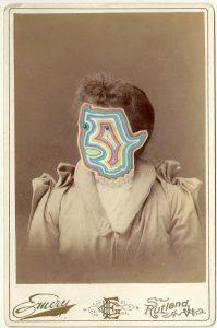 Tom Butler | Emery | 2014 | Gouache on Albumen print | 16.5×10.5cm