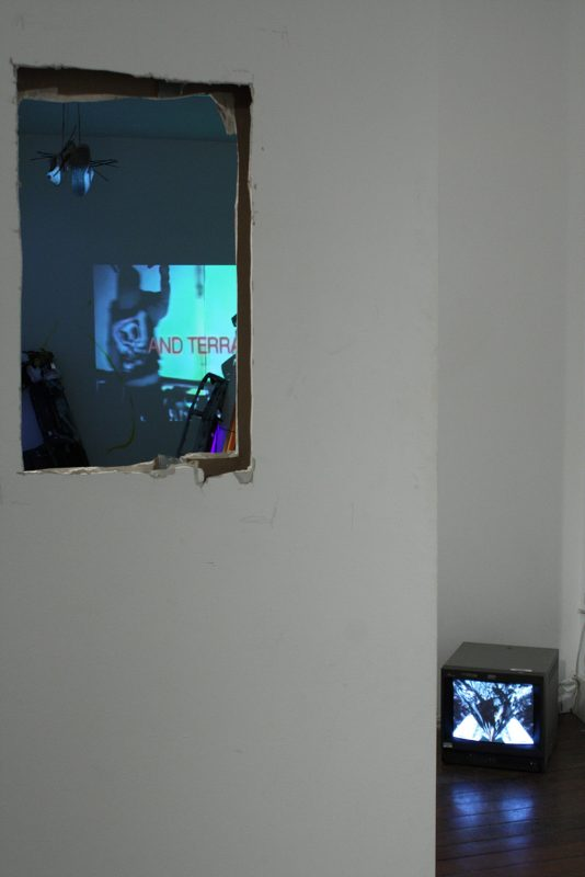 Alexis Milne | Your Eyes are Dead | 2013 | Video-installation (Detail) | Dimensions Variable