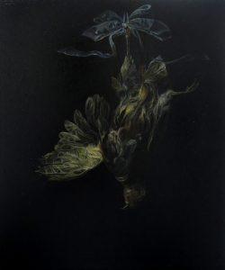 Emma Bennett | Of Quietness | 2013 | Oil on oak panel | 30x25cm