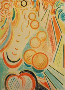 Kiera Bennett | Jostle | 2013 | Oil on canvas | 90x65cm