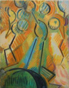 Kiera Bennett | Painting | 2013 | Oil on canvas | 45x35cm