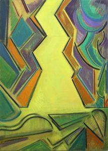 Kiera Bennett | Poisoned | 2013 | Oil on canvas | 90x65cm