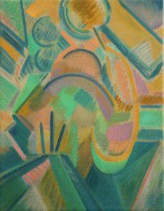 Kiera Bennett | Studio | 2013 | Oil on canvas | 45x35cm