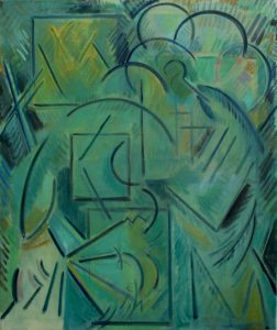 Kiera Bennett | Urgency | 2013 | Oil on canvas | 90x75cm