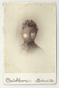 Tom Butler | Casco | 2013 | Gouache on Albumen print | 16.5×10.5cm