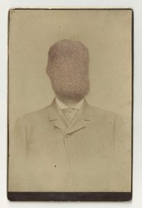 Tom Butler | Clip | 2013 | Gouache on Albumen print | 16.5×10.5cm