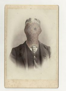 Tom Butler | JJG | 2013 | Gouache on Albumen print | 16.5×10.5cm