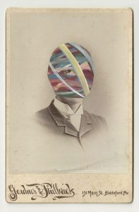 Tom Butler | Philbuck | 2013 | Gouache on Albumen print | 16.5×10.5cm
