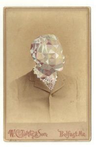 Tom Butler | Tett | 2013 | Gouache on Albumen print | 16.5×10.5cm