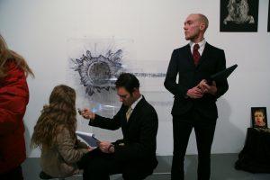 Eyal Edelman | Everyone's a Critic | 2012 | Interactive performance | (1280×853)