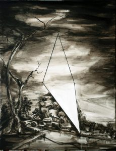 Alex Hudson | Outro | 2010 | Oil on linen | 45x34cm
