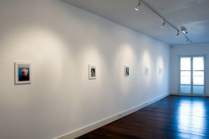 Obituaries | Hugh Mendes | CHARLIE SMITH LONDON | Installation View (2) | 2012