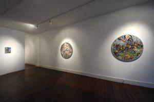 Jerusalem | Dominic Shepherd | CHARLIE SMITH LONDON | Installation View (2) | 2012