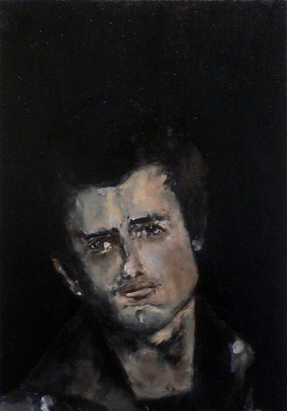 Sam Jackson | A Certain Estrangement | 2011 | Oil on board | 33×22.5cm