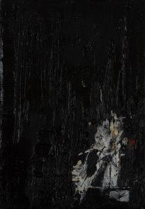Luke Jackson | Accent | 2012 | Oil & mixed media on canvas | 21x15cm