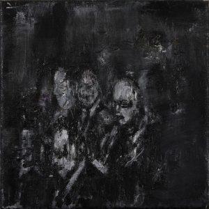 Luke Jackson | Micro Nations | 2012 | Oil & mixed media on canvas | 22x15cm