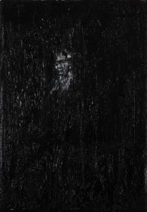 Luke Jackson | The Reappearance | 2012 | Oil & mixed media on canvas | 22x15cm