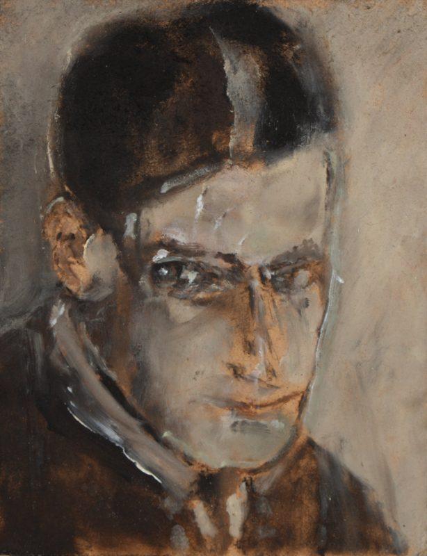 Sam Jackson | Man's Majesty is a Deception | 2011 | Oil on board | 17×13.4cm
