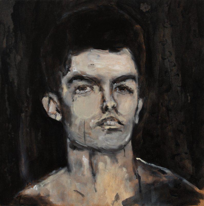 Sam Jackson | Pubescent Dreamer | 2011 | Oil on board | 30x27cm