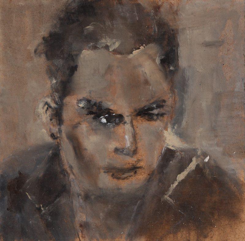 Sam Jackson | Tabula Rasa | 2011 | Oil on board | 13x13cm