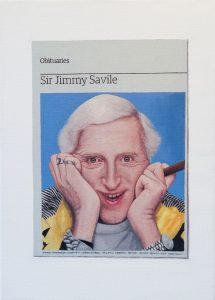 Hugh Mendes | Obituary Sir Jimmy Saville | 2011 | Oil on linen | 35x25cm | (733×1024)