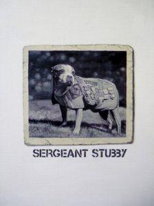 Hugh Mendes | Sgt Stubby | 2014 | Oil on linen | 30x20cm | (954×1280)