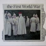 Hugh Mendes | The First World War | 2014 | Oil on linen | 25x30cm | (1280×1073)