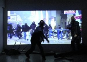 Alexis Milne   Riot Part Two (Ultra Safe Riot)   2010   Video
