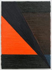 Alex Gene Morrison | Split | 2011 | Oil on canvas | 40x30cm