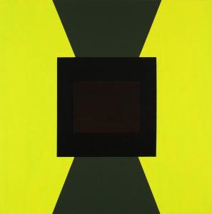 Alex Gene Morrison   Static   2010   Oil on linen   183x183cm
