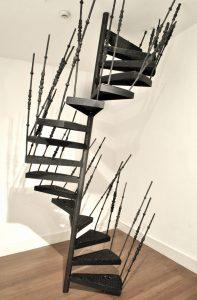 Nika Neelova | The Descent | 2011 | Steel, wax & pigment