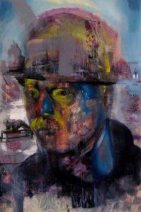 Gavin Nolan | Tundra | 2013 | Oil on canvas on board | 60x40cm
