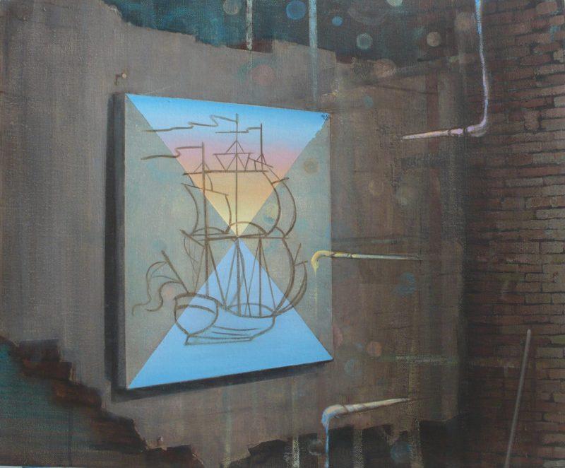 Tom Ormond | Magic | 2013 | Oil on linen | 46x56cm