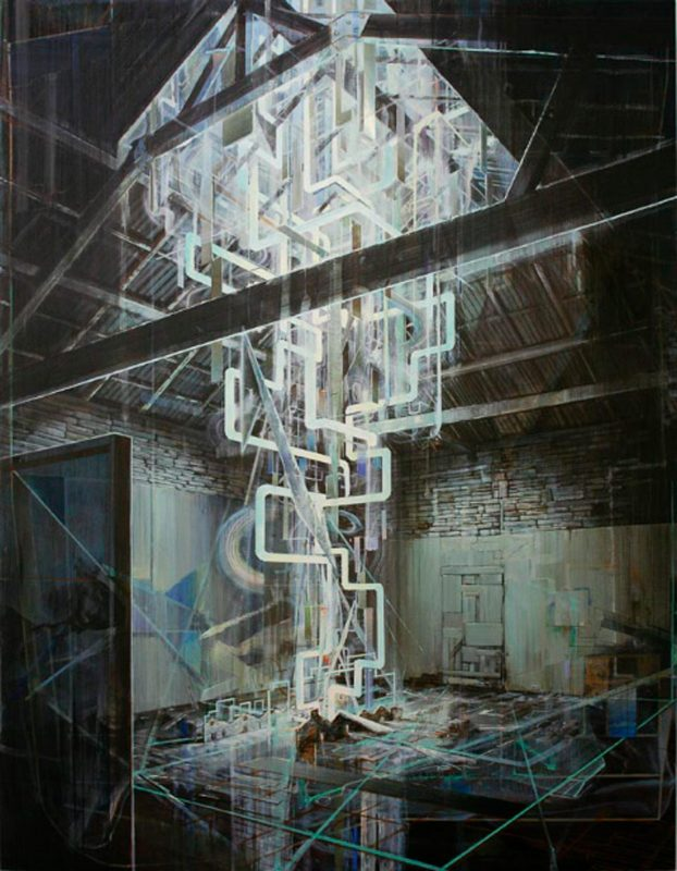 Tom Ormond | The New Light of Tomorrow | 2010 | Oil on linen | 238x183cm