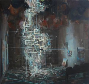 Tom Ormond | Inside Out | 2013 | Oil on linen | 183x193cm
