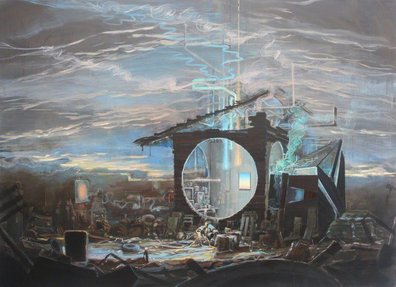 Tom Ormond | Work in Progress | 2013 | Oil on linen | 127x178cm
