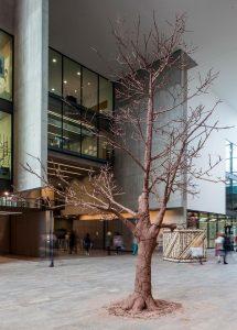 George Rae | Quercus Robur | 2012 | Terracotta clay steel | Dimensions variable | (916×1280)