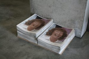 Molly Rooke | Some things are better left unsaid (part i) | 2013 | Newspapers (Ed. 3000) | Dimensions variable | (1280×854)