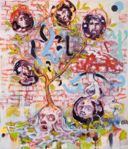 Dominic Shepherd | Fruit Tree | 2010 | Oil on canvas | 36x31cm