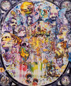 Dominic Shepherd | Golden Dawn | 2010 | Oil on canvas | 185x153cm