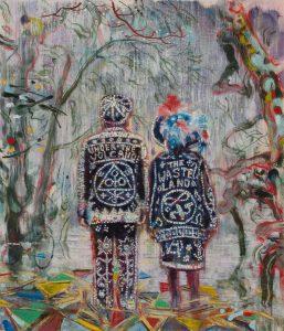 Dominic Shepherd | Oracles | 2012 | Oil on canvas | 35x30cm