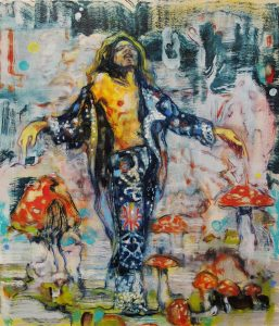 Dominic Shepherd | Trance | 2012 | Oil on canvas | 35x30cm