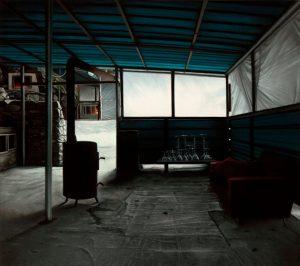 John Stark | Interior View | 2013 | Oil on wood panel | 31x35cm