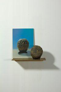 John Stark | The Outstanding Stone | 2013 | Oil on wood panel | 20x12cm