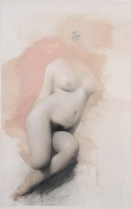 Gavin Tremlett | Amusement 5 | 2010 | Oil, charcoal & graphite on paper | 106x69cm