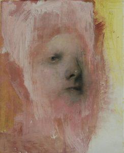 Gavin Tremlett | Portrait Study 5 | 2010 | Oil & graphite on paper | 50x40cm