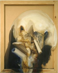 Vicky Wright | Guardian Study | 2009 | Oil on panel | 82x60cm