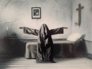 John Stark | Meditation | 2014 | Oil on oak panel 30.5×40.5cm