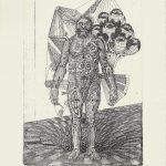 Gavin Nolan | As Below, Above | 2014 | Hard ground etching on 300gsm Somerset soft white velvet paper (Ed. 50) | 29.7x21cm