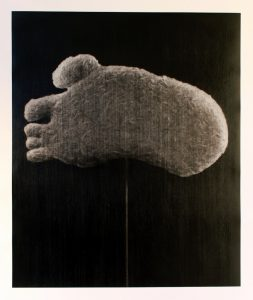 Reece Jones | The Undisputed Heavyweight Champion of the World | 2014 | Charcoal & polymer varnish on paper | 130x110cm